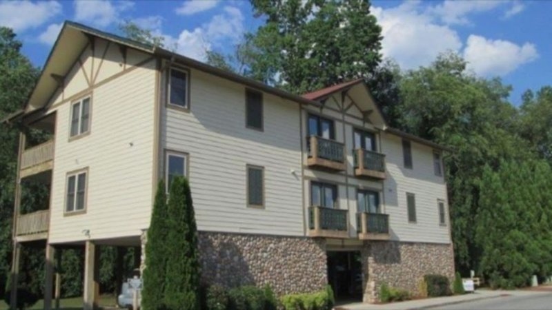 Riverfront/ Easy Walk To Helen.  1BR/IBA  Top Unit  With Beautiful River Views, holiday rental in Helen