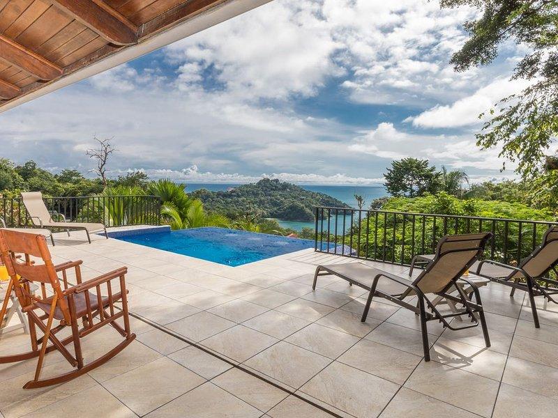 10% descuento nacionales, piscina privada/casa privada, fácil distancia social, alquiler de vacaciones en Parque Nacional Manuel Antonio