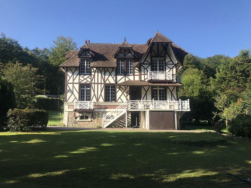 Villa Anglo-Normande au bord de la mer, location de vacances à Saint-Leonard