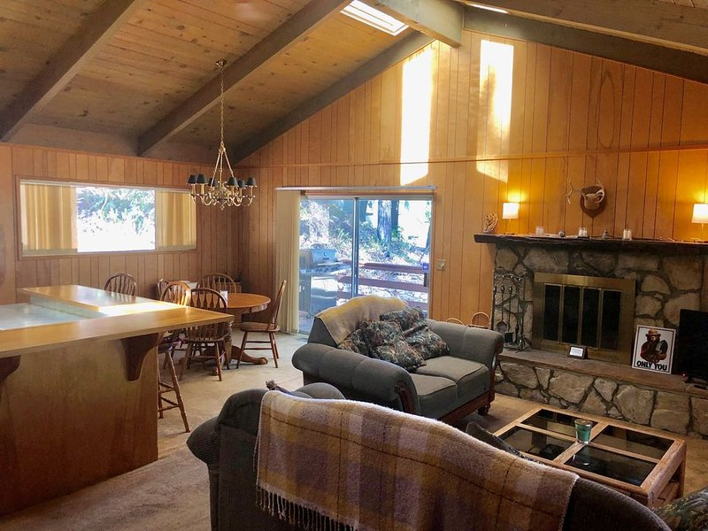 Secluded Mountain Retreat in the San Bernadino National Forest, vacation rental in Crestline
