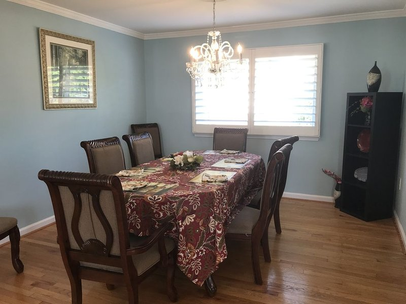 Family and friendly home closed to DC & Tyson's, alquiler vacacional en Fairfax
