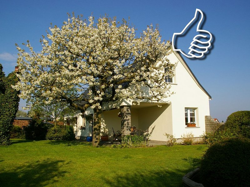 Rural holiday home amidst nature near Dresden, holiday rental in Rackelwitz