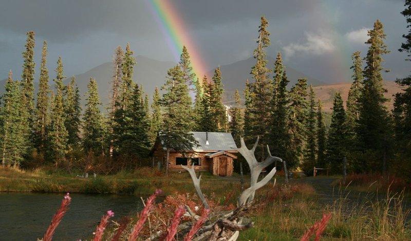 Adventure Denali / Fish Denali Maggie's Cabin, location de vacances à Parc national et réserve de Denali