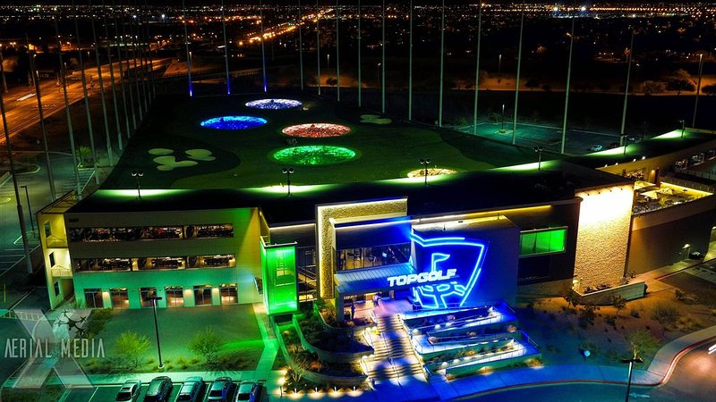 Experience the State-of-the-Art golfing experience at Top Golf Scottsdale