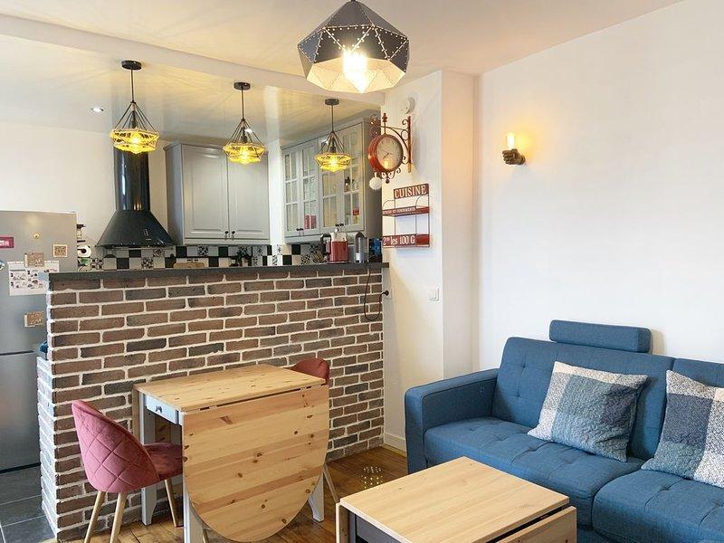 Cosy Appartement F2 44m2 10 mins de Paris, location de vacances à Saint-Maur-des-Fossés