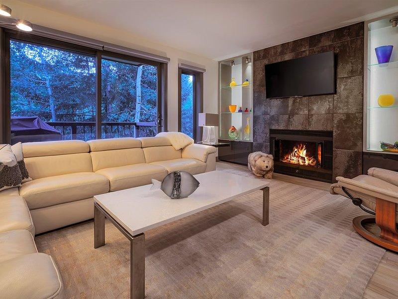 New listing in Creekside Condominiums. Ski-in; ski-out; 2bed.3bath; sleeps 6, holiday rental in Beaver Creek