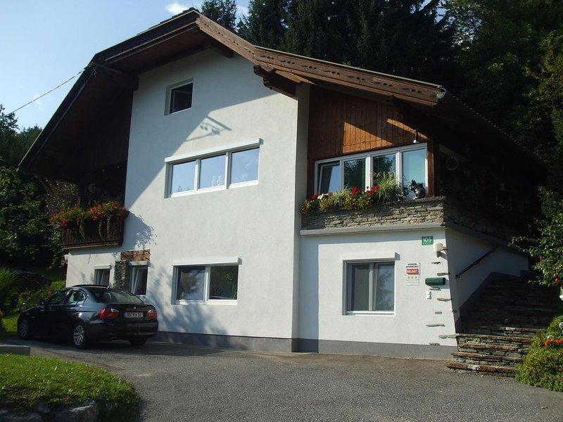 Willkommen im Haus Schader,  Carport, gratis Kärnten-Card- überdachter Pool, location de vacances à Ossiach