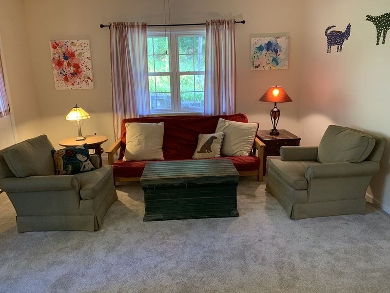 Spacious apartment located in lovely Landrum, SC, vacation rental in Lynn
