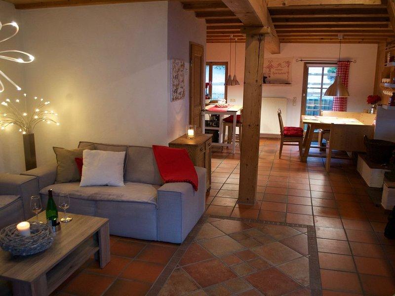 Liebevoll restaurierte ehemalige Scheune eines Bauernhauses, WLAN kostenlos, casa vacanza a Ingenried