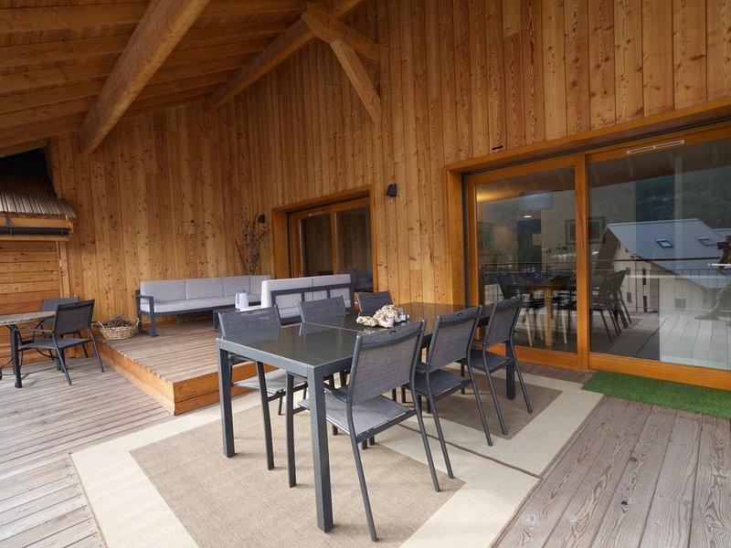 Appartement de prestige Serre Chevalier, location de vacances à Le Monetier-les-Bains