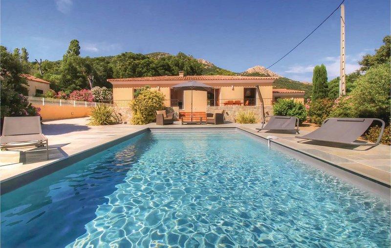 4 Zimmer Unterkunft in Algajola, holiday rental in Cateri