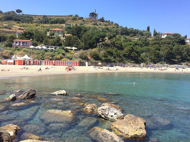 A praia Prima Punta
