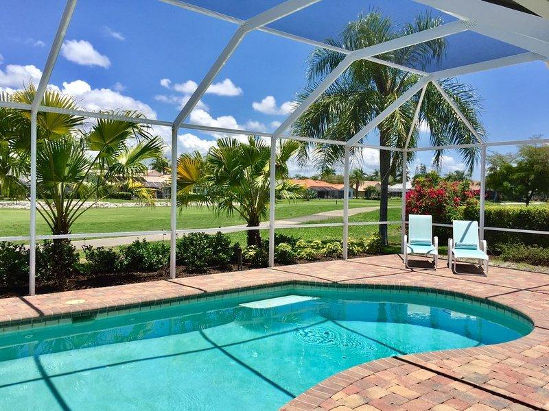 Neu renovierte und eingerichtete Villa in Spanish Wells Golf & Country Club, casa vacanza a Bonita Springs