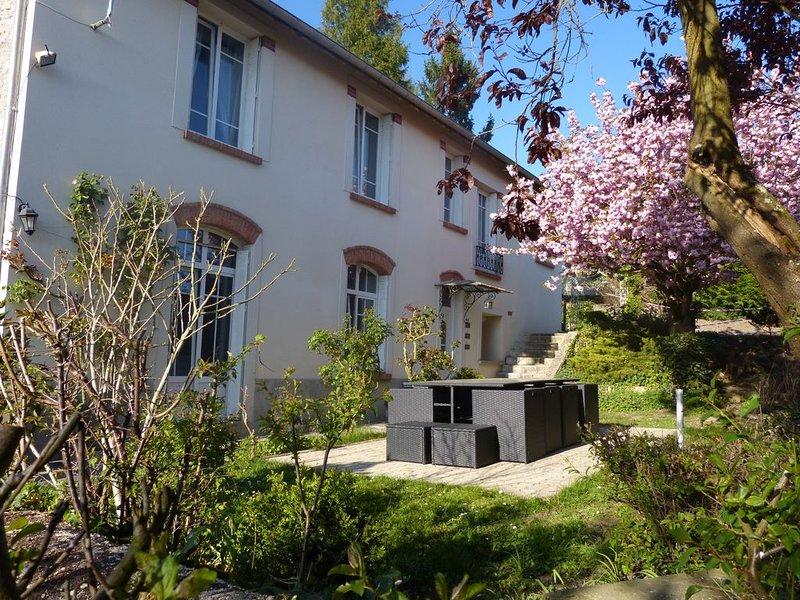 piscine privée chauffée;beau village typiquement champenois au milieu des vignes, holiday rental in Marne