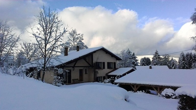 Au calme, à 2 pas des lacs et stations sports d'hiver, chalet pour 2 à 8 pers., vakantiewoning in Xonrupt-Longemer