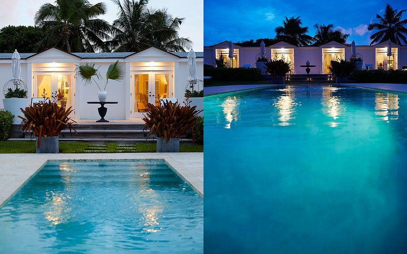 CHARA HOUSE Fab Location Oceanside with Pool, holiday rental in Dunmore Town