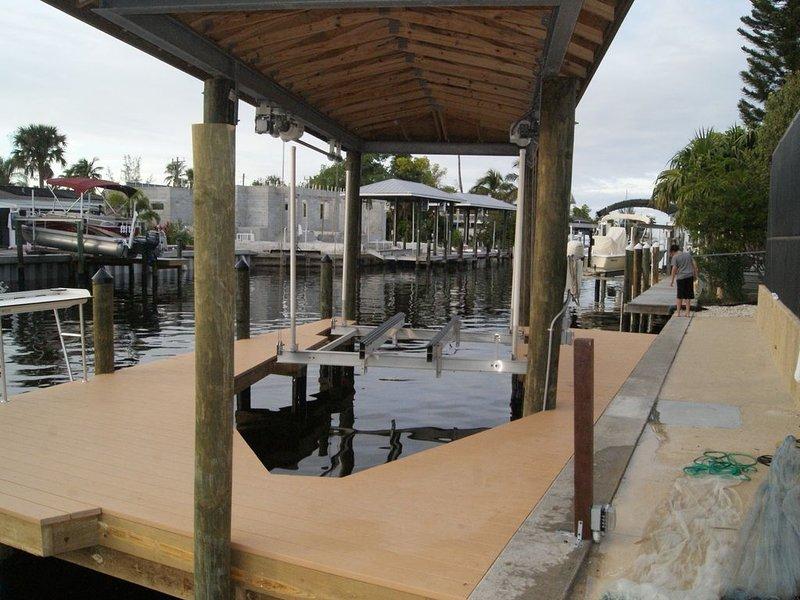 Boatlift installato dicembre 2017