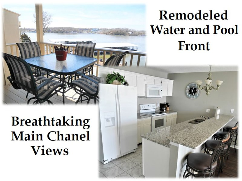 Breathtaking Views Waterfront Condo (30x10 Boat Slip included in the price)., vacation rental in Osage Beach