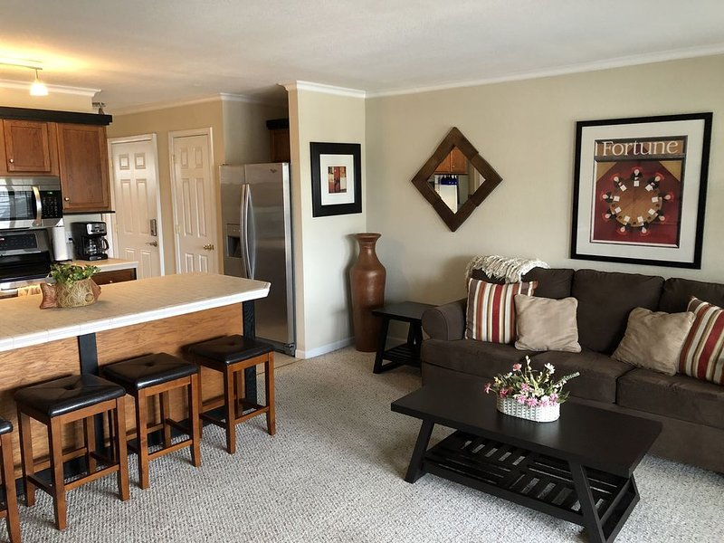 Cozy Condo - Awesome Lakefront View - No Steps!, holiday rental in Four Seasons
