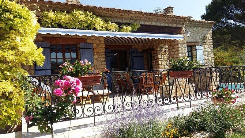 Le Mas de l'Aube, magnifique maison en Provence, alquiler de vacaciones en Apt