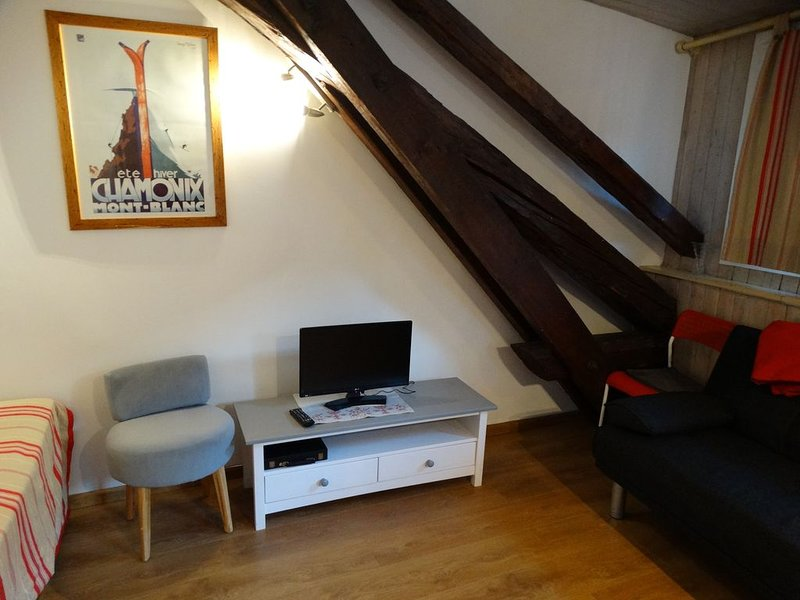 Monolocale in centro a Chamonix, vacation rental in Chamonix