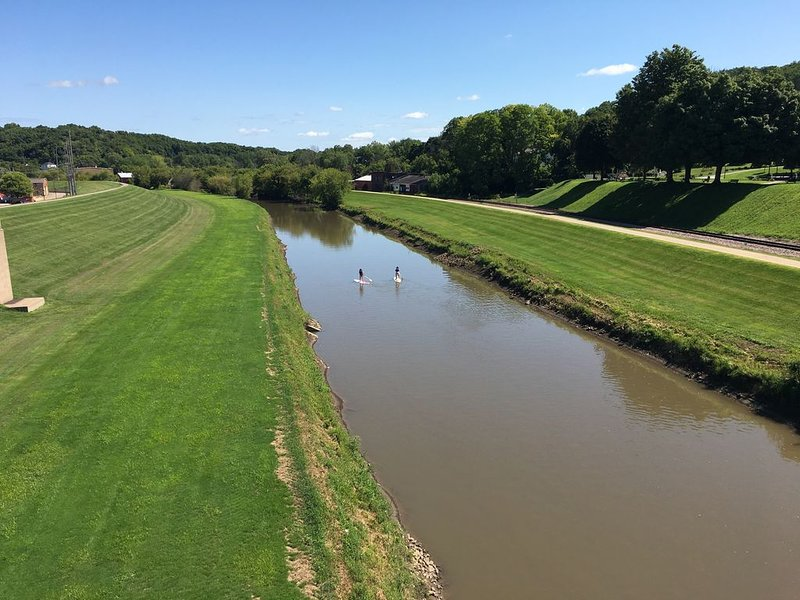 Galena River Runs Next To Downtown, Rent A Kayak Or Paddle Board!