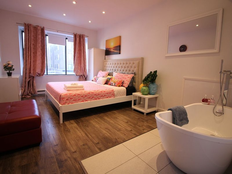 The original Queen Mary Night life Loft, holiday rental in Cote Saint-Luc