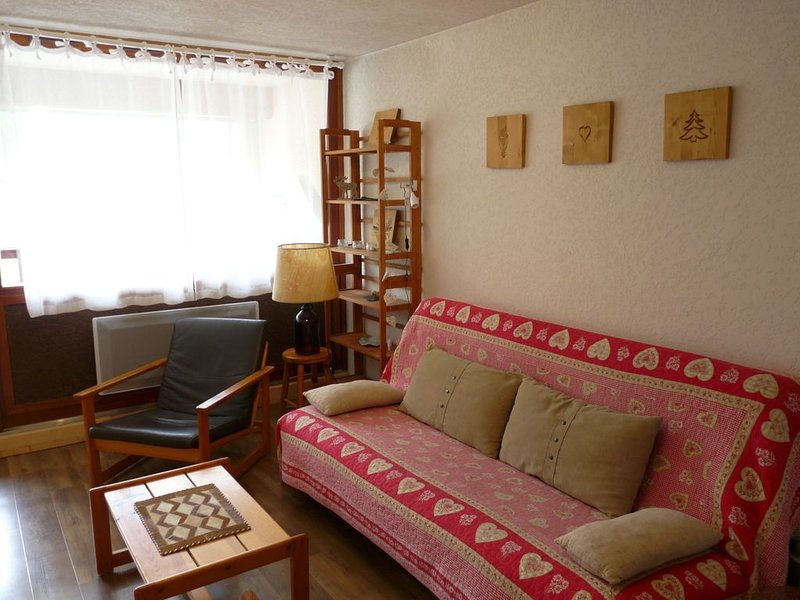 Saint Lary Soulan: APPARTEMENT 2 PIECES, EN CENTRE VILLE, 2/4 pers., holiday rental in Saint-Lary-Soulan
