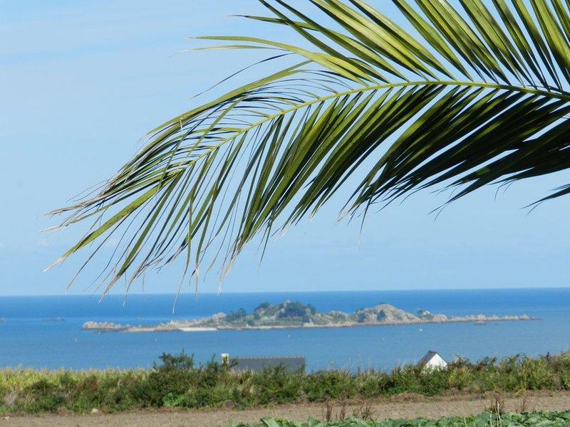 Maison vue sur mer, proche de la plage, 4 couchages, idéale vacances en famille, holiday rental in Paimpol