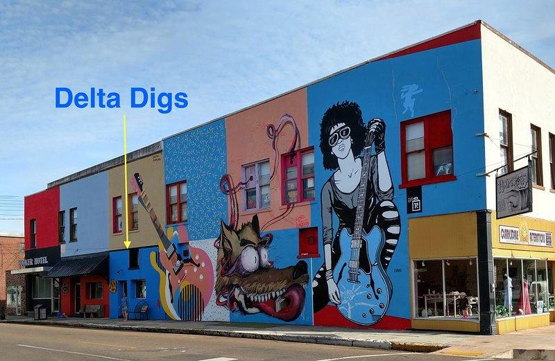 Entrée Delta Digs