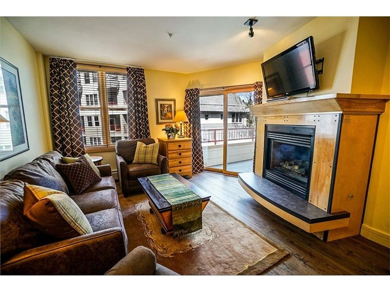 Outstanding 2BR in River Run. Fully stocked, steps from gondola and shopping, alquiler vacacional en Keystone