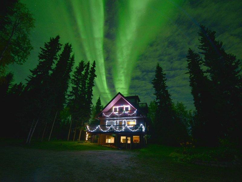 September 2018 Auroras over our house!!