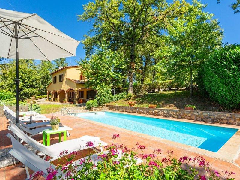 Villa Casa al Sole: Large Private Pool, WiFi, location de vacances à Volpaia