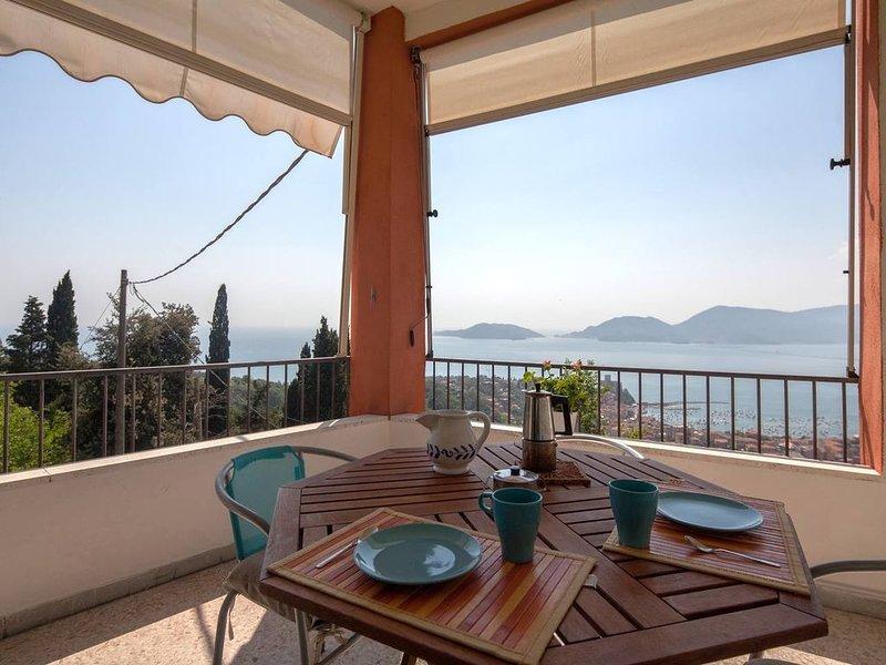 Panorama mozzafiato sul Golfo dei poeti, holiday rental in Tellaro