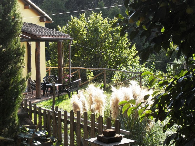 Cottage tra Campagna e Mare in Liguria, holiday rental in Carozzo