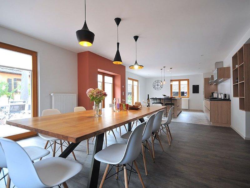 Parenthèse Vin - Grande maison avec terrasse pour 12 personnes à Eguisheim, holiday rental in Rouffach
