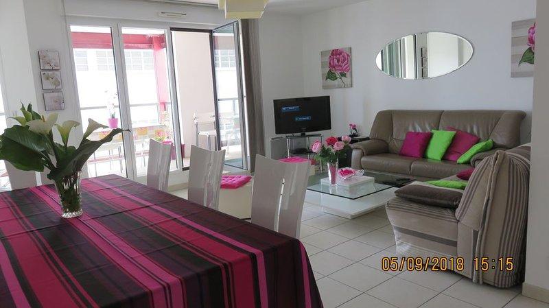 Sala de jantar e sala de estar