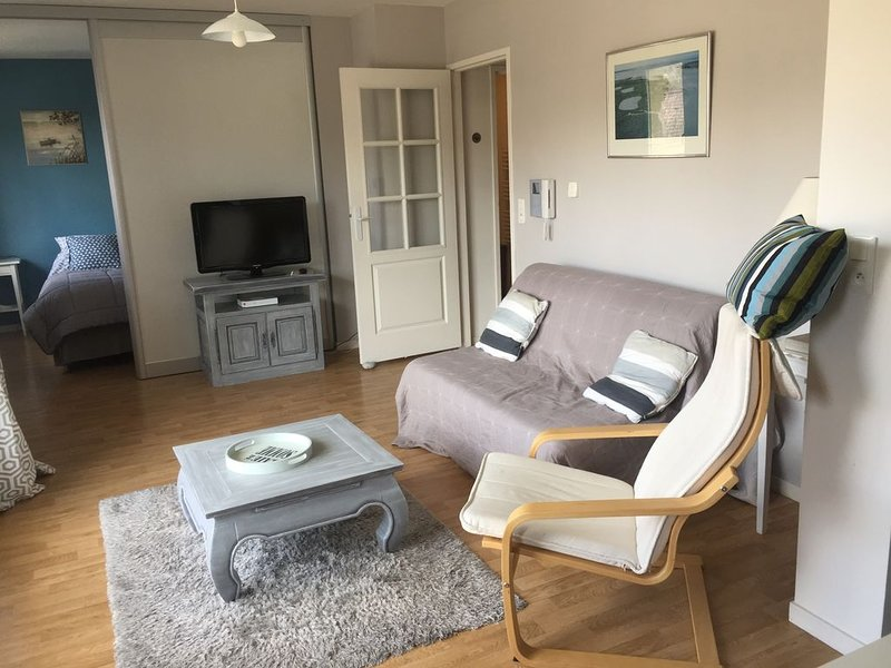 Baie de Somme : superbe appartement + parking privé Saint Valery sur Somme, vacation rental in Somme
