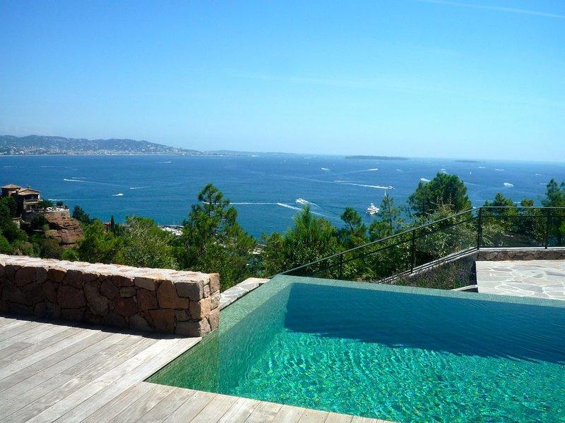 très belle Villa, prestations exceptionnelles à Théoule sur mer, casa vacanza a Théoule sur Mer