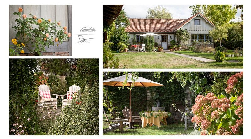Très jolie maison avec jardin paysagé clôturé., location de vacances à Biscarrosse