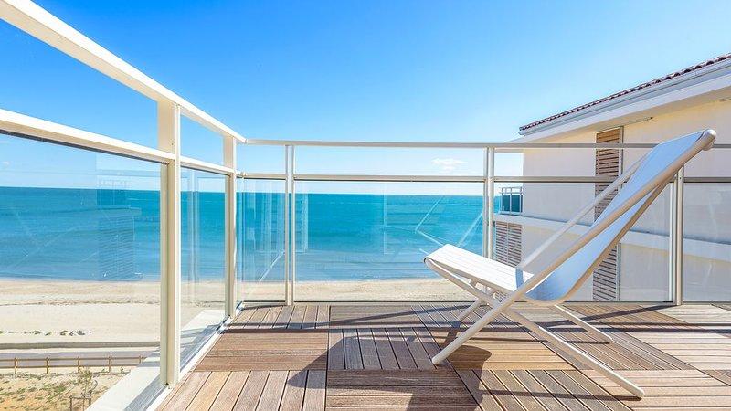 Bel appartement neuf, 2 pièces face à la Mer, alquiler vacacional en Palavas-les-Flots