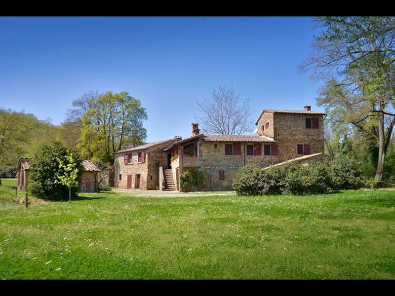 FABULOUS 6BR HOME WITH WONDERFUL SWIMMING POOL & GARDEN IN THE HEART OF TUSCANY!, holiday rental in Lucignano