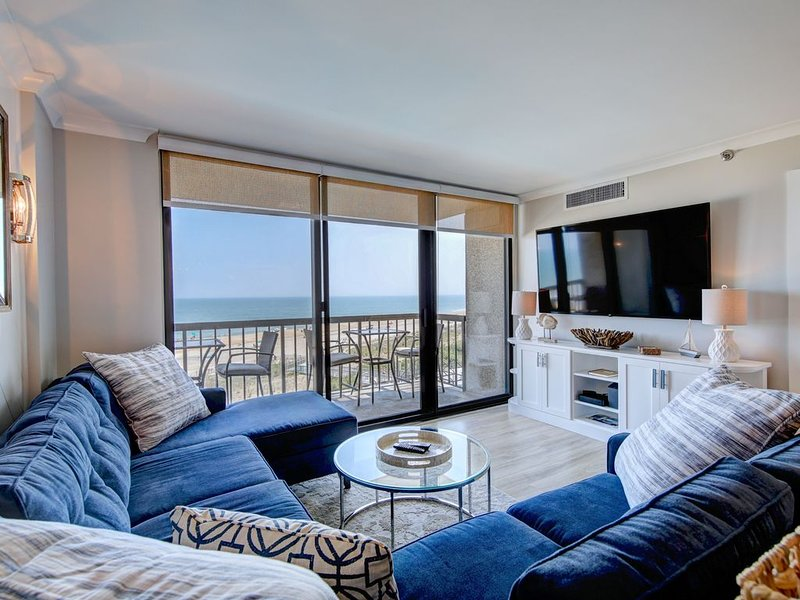 Jaw-Dropping View * Sea Colony Oceanfront 3 BR Condo with 5 Star Renovation!!, holiday rental in Bethany Beach