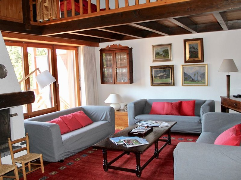 Apartment in Crans Montana, holiday rental in Granges