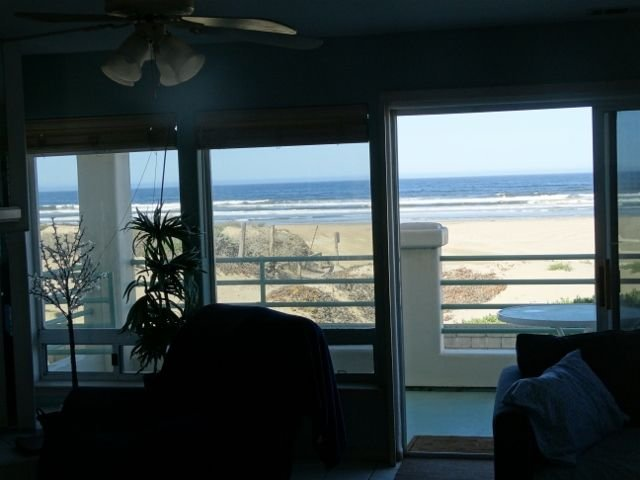 looking from family room
