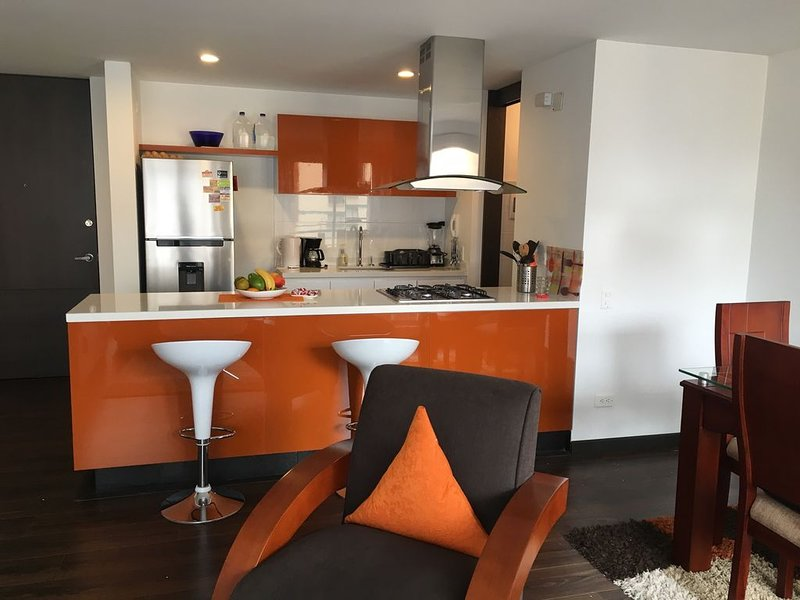 Luxury apartment with all the Conveniences of your own Home.          ., alquiler de vacaciones en Cajicá