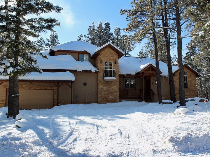 Indoor basketball, ping pong, darts and more!, holiday rental in Angel Fire