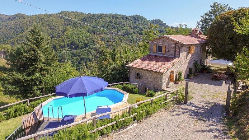 Villino Annalisa, Coreglia Antelminelli, Lucca and Viareggio, holiday rental in Coreglia Antelminelli