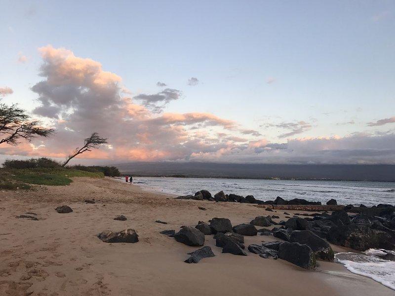 Romantic, Groundfloor, Affordable, Beachfront Condo, Makani A Kai A9, location de vacances à Wailuku