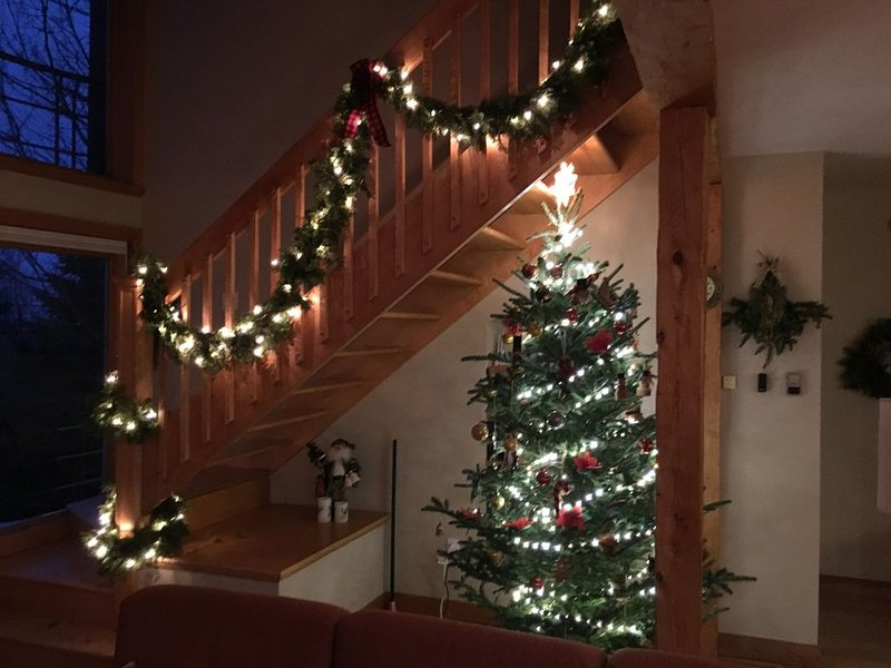 Christmas is magical at the Upper Pinnacle House